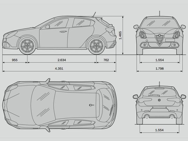 Alfa Romeo Mito Technische Daten