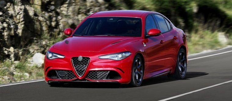 Alfa Romeo Giuia Quadrifoglio